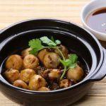 Nấm rơm kho nước tương   Thức ăn chay, Nấm rơm, Ẩm thực