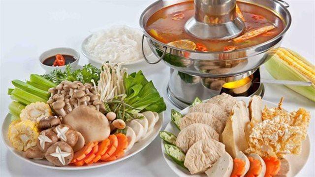 Cách nấu Lẩu Thái Chay thập cẩm chua cay