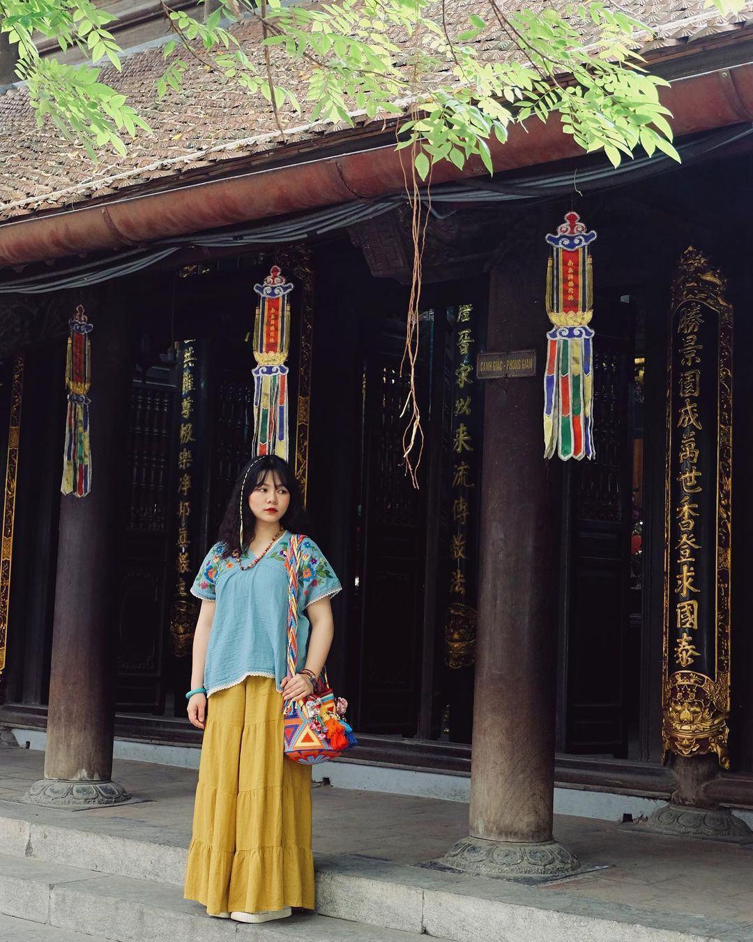 kiến trúc của chùa Hà