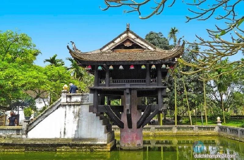 Tham quan Chùa Một Cột Hà Nội: ngôi chùa độc đáo nhất Việt Nam