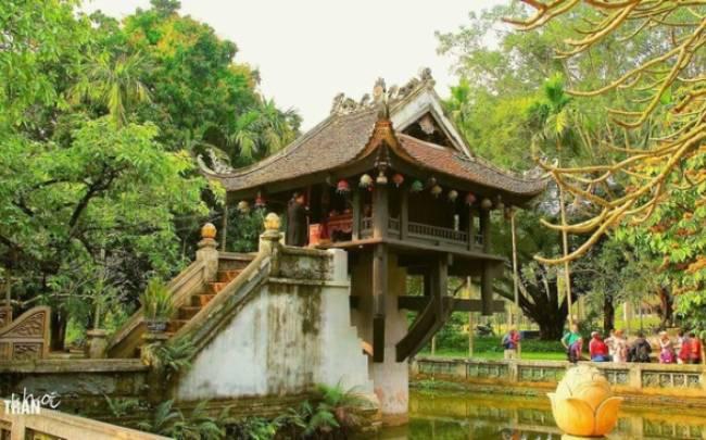 Chùa Một Cột - Biểu tượng văn hóa độc đáo của Việt Nam