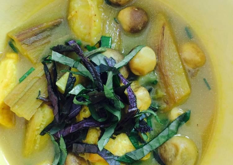 Cách Làm Món Chuối đậu chay (kiểu nấu Ốc chuối đậu) của Loan Nguyen -  Cookpad