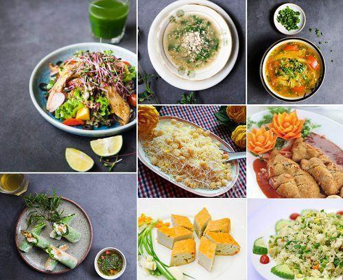 Danh sách các thực đơn ăn chay đủ chất dinh dưỡng nhất trong 1 tuần - Đồ chay Tâm An