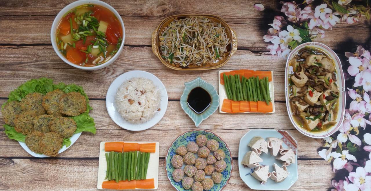 Những cách nấu các món chay thông dụng