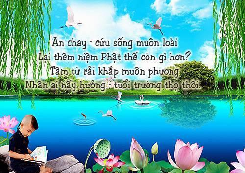Ăn Chay Thoát Khỏi Ách Nạn.