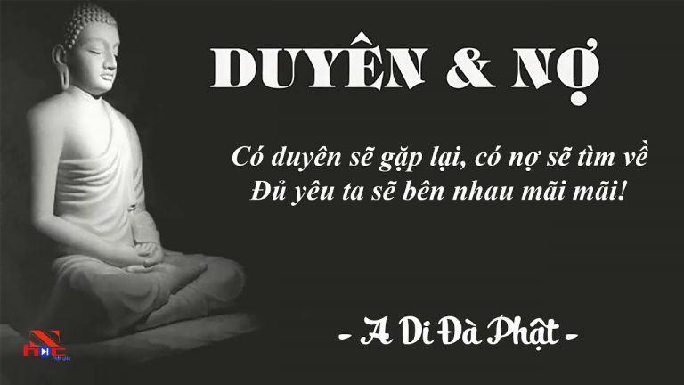 DUYÊN NỢ ❤️ Lời Phật Dạy Duyên Nợ Trong Tình Yêu❤️ Phật Pháp Khai Tâm -  YouTube