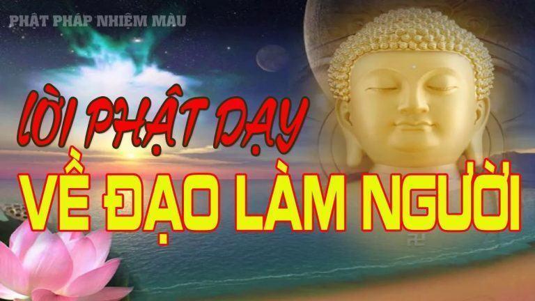 Lời Phật Dạy Về Đạo Làm Người rất hay P1, Phật pháp Nhiệm màu - YouTube