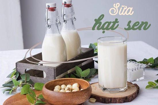 Cách Làm Sữa Hạt Sen Cho Bé Bố Sung Dinh Dưỡng