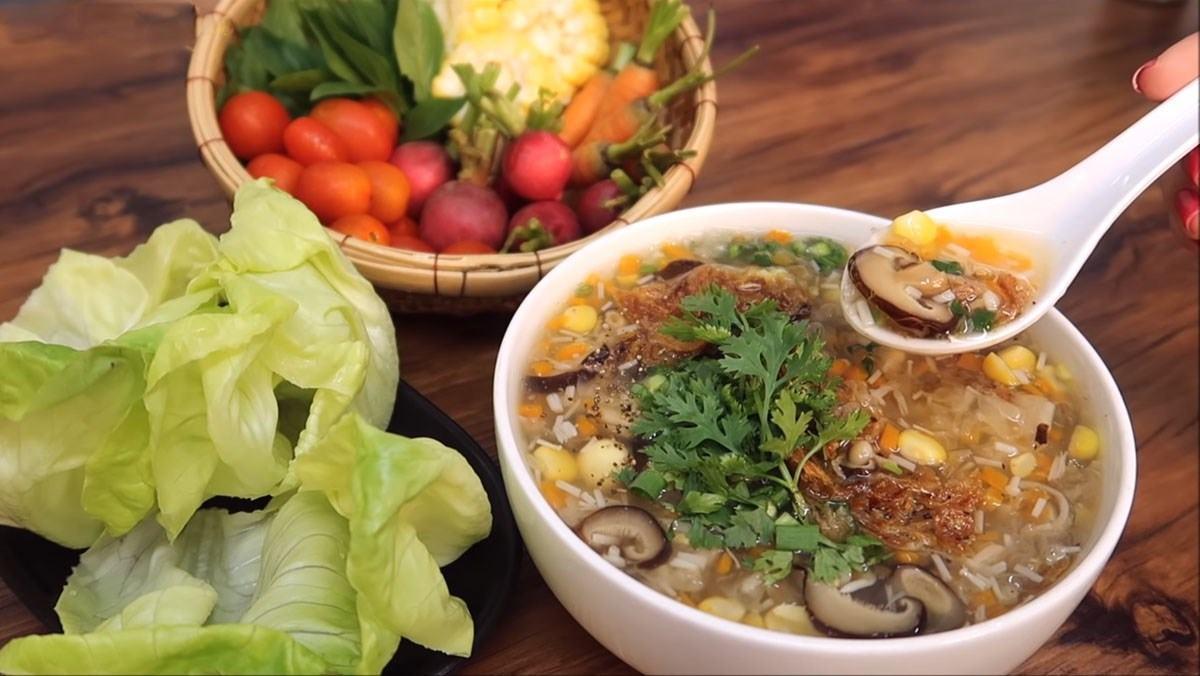 3 cách nấu súp chay thơm ngon bỗ dưỡng đơn giản tại nhà