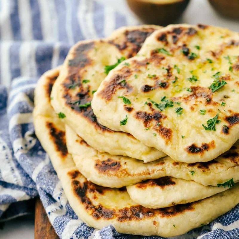 Cách làm bánh naan - bánh mì truyền thống Ấn Độ