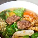 Hướng dẫn cách làm món Bún Chay Huế cho thực đơn bữa sáng