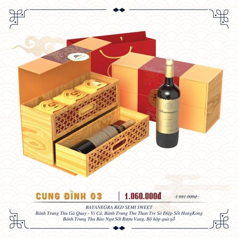 Combo Cung Đình 03 - Hội An mooncake