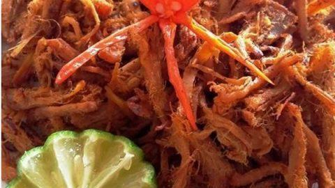 cách làm thịt bò khô sợi đón tết