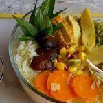 cách nấu bún chả cá chay Đà Nẵng
