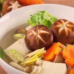 cách làm món canh nấm hạt sen chay