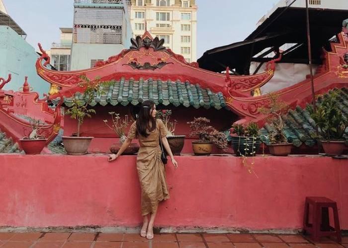 Đến chùa Ngọc Hoàng Sài Gòn linh thiêng cầu duyên, cầu tự
