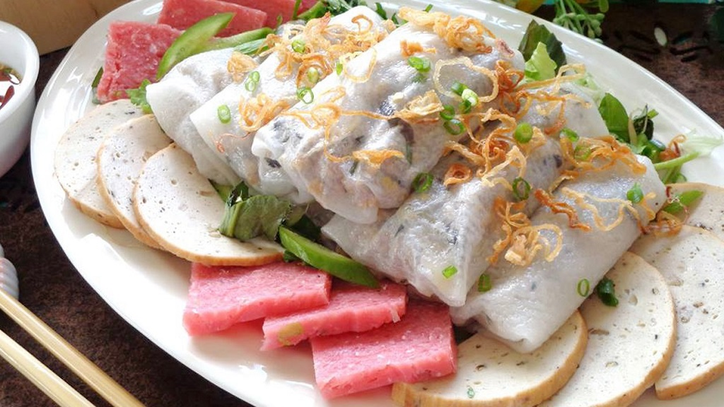 Đặc sản Nam Định - Bánh Cuốn Làng Kênh