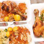 cách nấu xôi bắp mỹ và thịt gà chiên