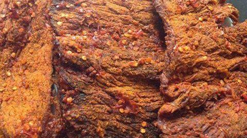 cách làm thịt bò khô miếng tại nhà