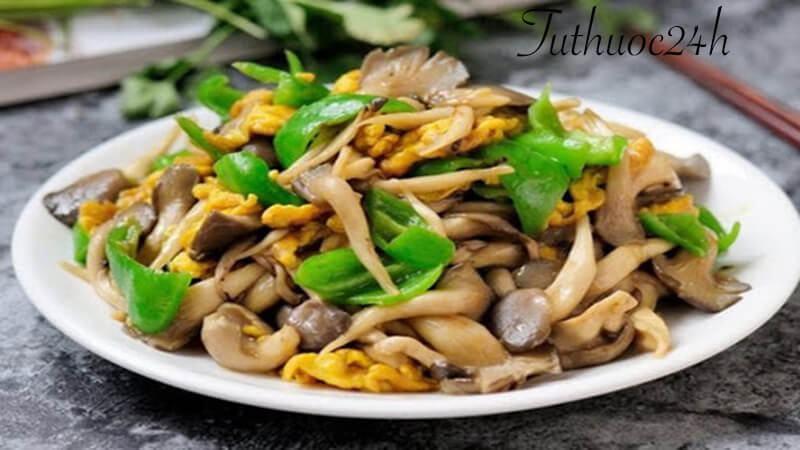 các loại nguyên liệu xào ngon với nấm