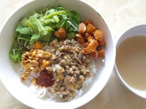 Bún hến chay recipe step 5 photo