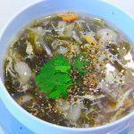 hướng dẫn cách nấu súp rong biển chay