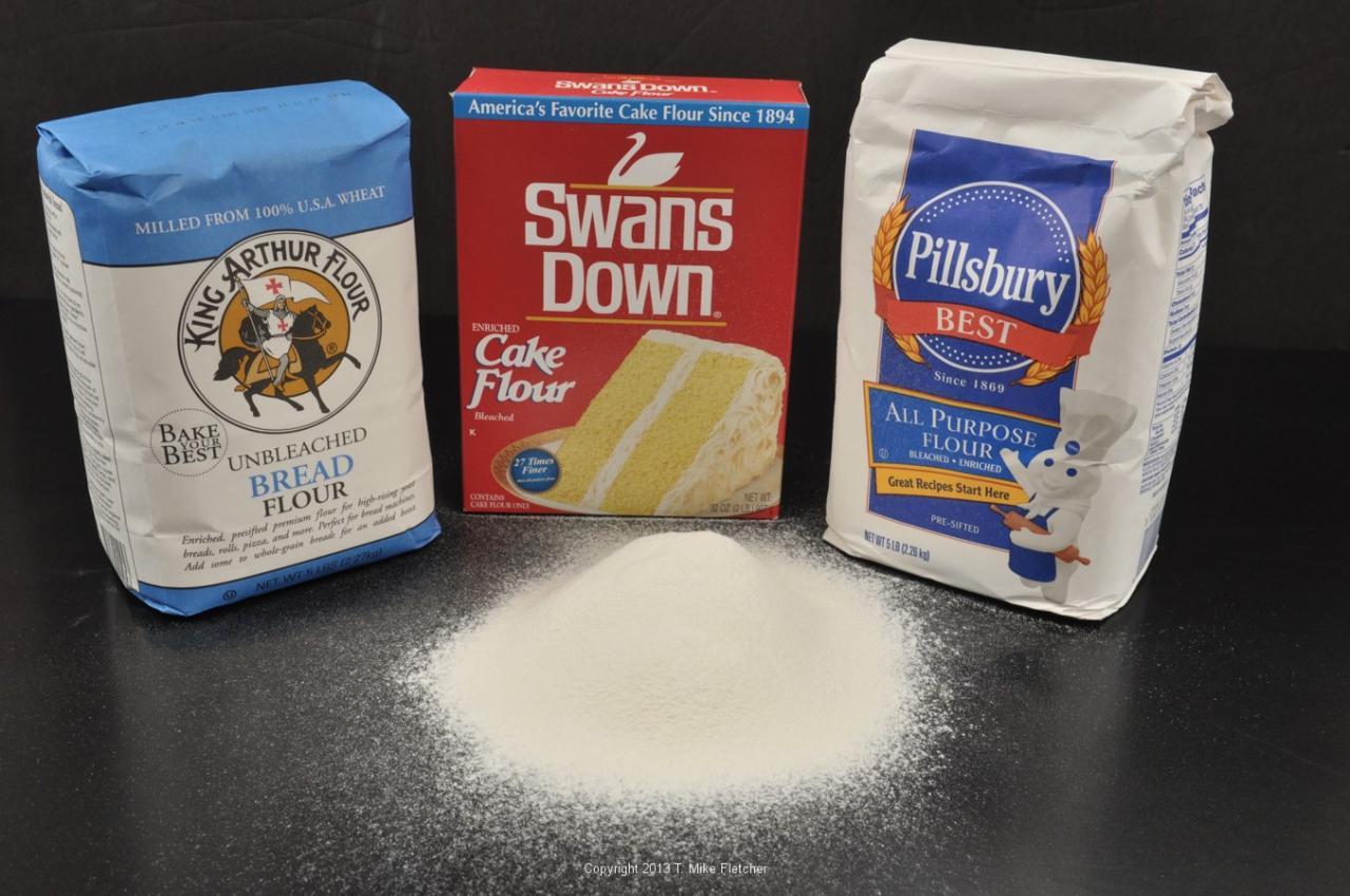 Bột mì số 8 (Cake Flour/Pastry Flour)