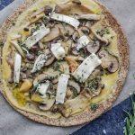 hướng dẫn làm món pizza nấm chay