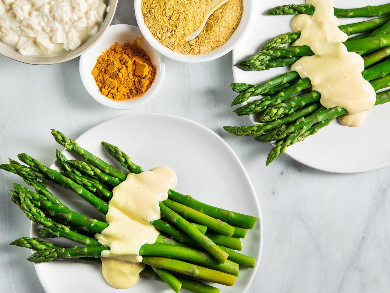 Giá trị dinh dưỡng món chay từ măng tây