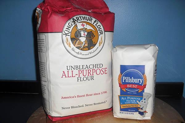 Bột mì đa dụng là loại bột mì được dùng phổ biến nhất. (Ảnh: Internet)