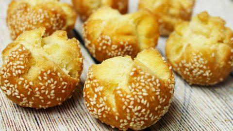hướng dẫn làm món bánh mè nứt chay
