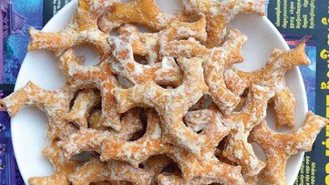 cách làm bánh gừng nhúng đường