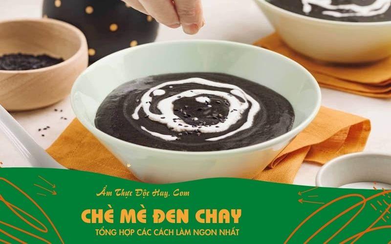 hướng dẫn nấu món chè mè đen chay ngon